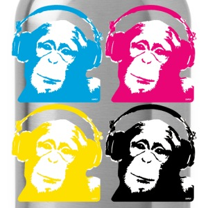 4 dj monkeys Shirts - Drinkfles