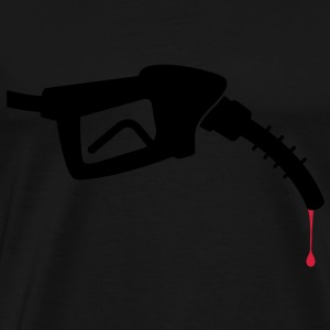 Gas Nozzle Blood (2c)++2013 Bags  - Men's Premium T-Shirt