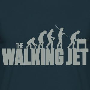 The walking Jet - Männer T-Shirt