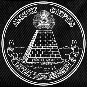 All seeing eye, pyramid, dollar, freemason, god T-shirts - Ryggsäck för barn