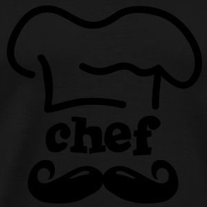 moustache chef Hoodies & Sweatshirts - Men's Premium T-Shirt