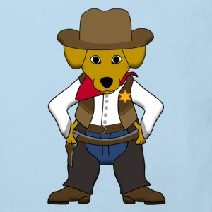 Sheriff dog Shirts - Kids' Organic T-shirt
