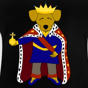 king dog Camisetas - Camiseta bebé