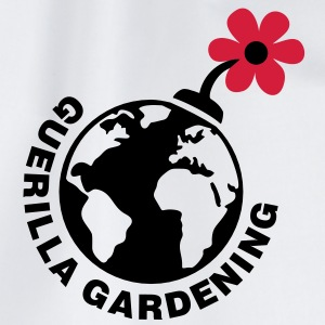 Guerilla Gardening - Blumen Bombe  - Let's do it!  - Turnbeutel
