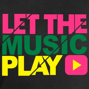Let the music play - Men's Sweatshirt by Stanley & Stella
