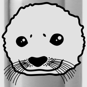 baby_seal T-shirts - Drikkeflaske