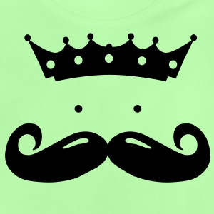moustache king Hoodies - Baby T-Shirt