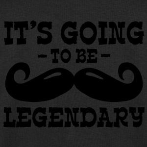it's going to be legendary / moustache Jackets & Vests - Men's Sweatshirt by Stanley & Stella