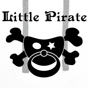 Little Pirate - Baby Pirat Accessories - Men's Premium Hoodie