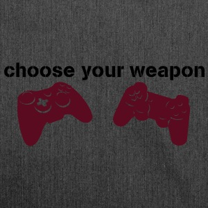 choose your weapon Pullover - Schultertasche aus Recycling-Material