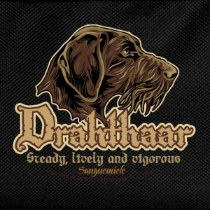 drahthaar_head T-Shirts - Kids' Backpack