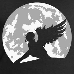 angel on moon T-Shirts - Men's Sweatshirt by Stanley & Stella
