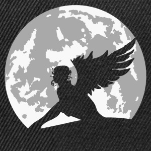 angel on moon T-Shirts - Snapback Cap