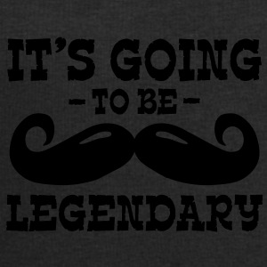 it's going to be legendary / moustache Caps & Mützen - Männer Sweatshirt von Stanley & Stella