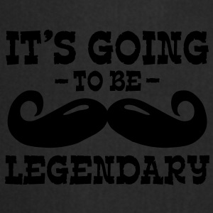 it's going to be legendary / moustache Casquettes et bonnets - Tablier de cuisine