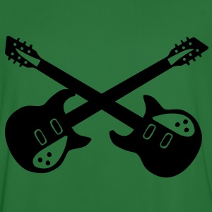 crossed guitar Sweaters - Mannen voetbal shirt