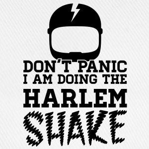 Don't panic do the Harlem shake meme dance t-shirt Tee shirts - Casquette classique