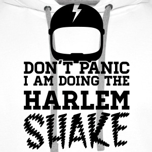 Don't panic do the Harlem shake meme dance t-shirt T-skjorter - Premium hettegenser for menn