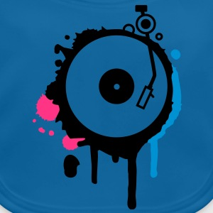 Turntable Graffiti T-Shirts - Baby Bio-Lätzchen