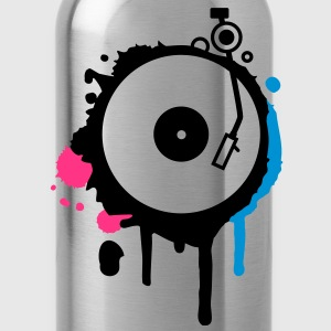 Turntable Graffiti T-Shirts - Water Bottle