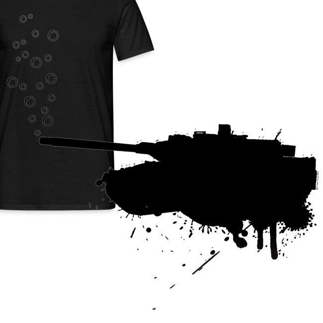 soap bubbles splash tank - Black