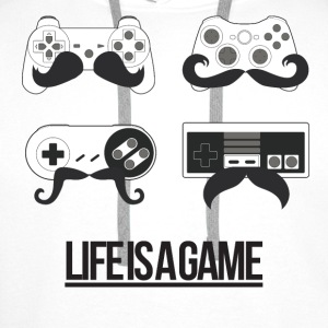 Life is a Game Shirts - Men's Premium Hoodie