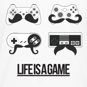 Life is a Game Shirts - Men's Premium Longsleeve Shirt