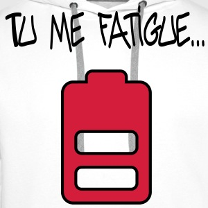 fatigue Tee shirts - Sweat-shirt à capuche Premium pour hommes