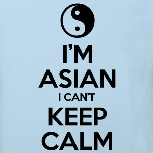 I'm Asian I Can't Keep Calm Shirts - Kids' Organic T-shirt