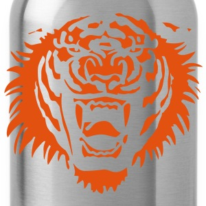 Roaring Tiger One Colour by Cheerful Madness!! Shirts - Water Bottle
