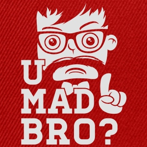Like a cool you mad story bro moustache Tee shirts - Casquette snapback