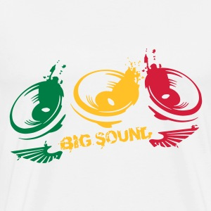 big_sound_maker3 couleurs Autres - T-shirt Premium Homme