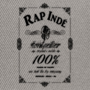 montpellier 100% rap indé Sweat-shirts - Casquette snapback