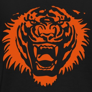 Roaring Tiger One Colour by Cheerful Madness!! Hoodies & Sweatshirts - Men's Premium T-Shirt