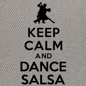 Keep calm and dance Salsa Sweat-shirts - Casquette snapback