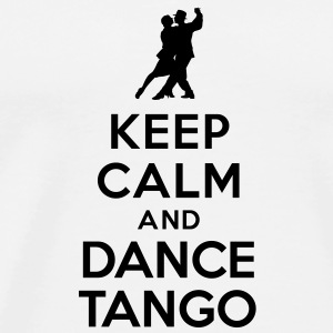 Keep calm and dance Tango Autres - T-shirt Premium Homme
