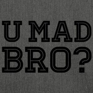 Like a cool you mad geek story bro typography Sudadera - Bandolera de material reciclado