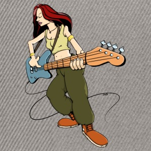 Bass Girl - Bassist Gensere - Snapback-caps