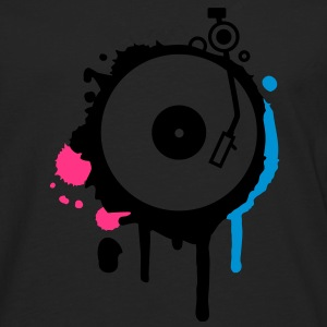 Turntable Graffiti Hoodies & Sweatshirts - Men's Premium Longsleeve Shirt