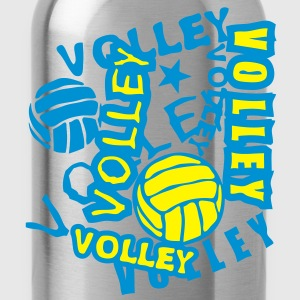 volleyball ballon mot texte 2202 Tee shirts - Gourde
