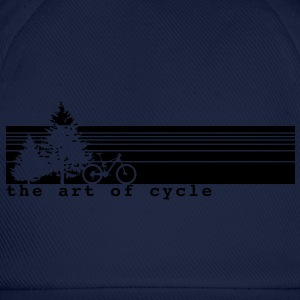 The art of cycle MTB T-Shirt - Baseballkappe