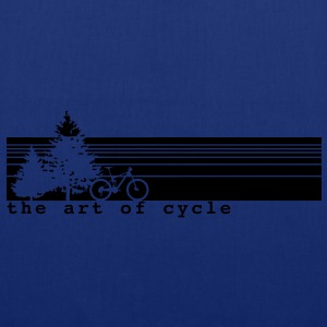 The art of cycle MTB T-Shirt - Stoffbeutel