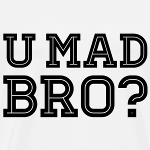 Like a cool you mad geek story bro typography Felpe - Maglietta Premium da uomo