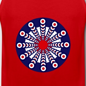 Mod Clock - Men's Premium Tank Top