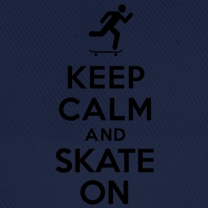 Keep calm and skate on Sweat-shirts - Casquette classique