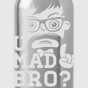 Like a cool you mad story bro moustache Polos - Gourde