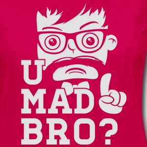 Like a cool you mad story bro moustache Polos - T-shirt manches longues Premium Femme