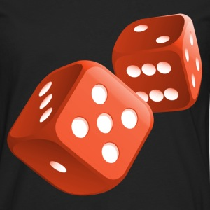poker dices T-Shirts - Men's Premium Longsleeve Shirt
