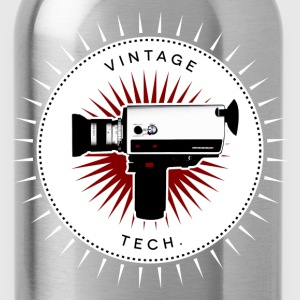 Vintage icons 05 - Super 8 camera T-Shirts - Water Bottle