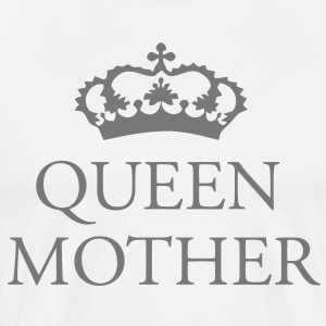 Gin O'Clock Queen Mother  Aprons - Men's Premium T-Shirt